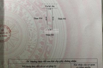 Bán đất D1 KDC Vsip 1 Thuận An giá 4 tỷ 4