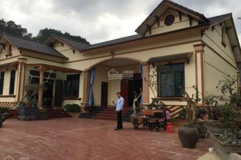 Cần bán lô đất 4162m2 đã có khuôn viên nhà vườn hoàn thiện giá rẻ tại xã Ba Trại, Ba Vì, Hà Nội