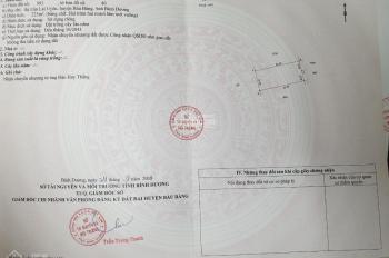 Chính chủ bán 225m đất đường HL610 bên khu hành chính Bàu Bàng