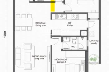 Cho thuê căn hộ chung cư 97m2, 2pn, đầy đủ hóa đơn và tiện ích tại Berriver Long Biên