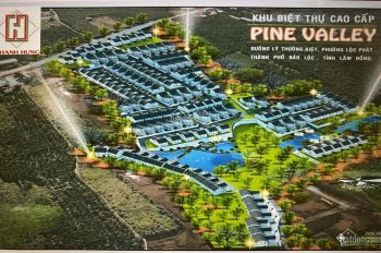 Chính thức mở bán đất khu biệt thự cao cấp Pine Valley - Lý Thường Kiệt - Bảo Lộc chỉ từ 5.4tr/m2