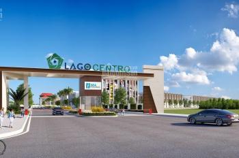 Cần sang nhượng 2 lô đất vị trí đẹp dự án Lago Centro, Bến Lức, Long An, sổ hồng riêng, đường nhựa