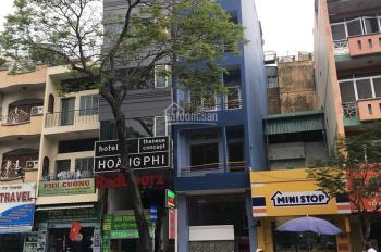 Cho thuê Hotel 2 mặt tiền Phạm Ngũ Lão, Quận 1 - Hầm 5 tầng 12 phòng 130 triệu