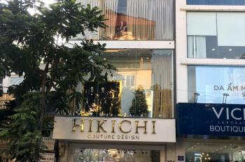 Cho thuê nhà mặt phố Thái Hà: 120m2 x 6 tầng, mặt tiền 7,5m, thông sàn, riêng biệt. LH: 0974557067