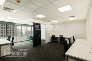 Cho thuê văn phòng tòa Diamond Flower (200m2 x 320 nghìn/m2/th) full bàn ghế, chia 3 phòng