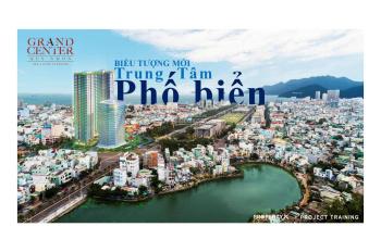 Căn hộ biển Grand Center Quy Nhơn CĐT Hưng Thịnh, suất nội bộ giá chỉ 23tr/m2, CK 40% LH 0911914455