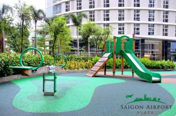 Cho thuê gấp căn hộ 2PN, full nội thất Sài Gòn Airport Plaza, cạnh sân bay. Hotline PKD 0909255622