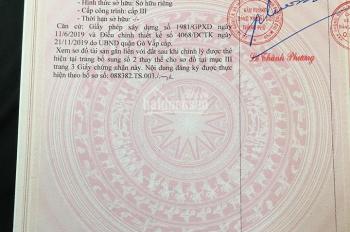 Bán nhà P15, Lê Đức Thọ, Gò Vấp, cần bán gấp trong tháng 3, giá 5,6 tỷ gọi ngay 0909873986