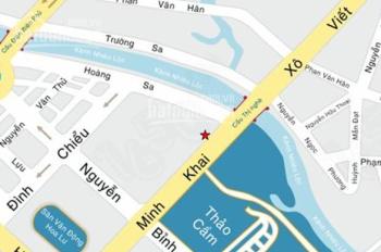 Cho thuê tòa nhà 2A Nguyễn Thị Minh Khai, P. Đa Kao, Q.1, diện tích 13x18m, hầm, 8 lầu