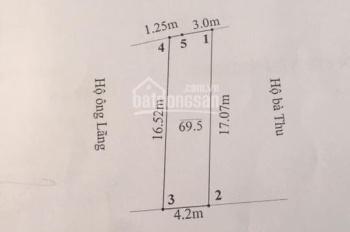 Chính chủ cần bán lô đất đường 208, thị trấn An Dương, Hải Phòng. LH chính chủ: 0904.344.189