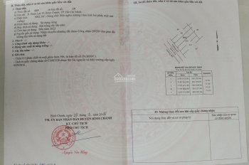 Bán lô đất vườn đường Vườn Thơm (khu trồng mai tập trung của TP. HCM)