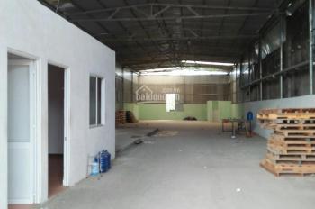 Cho thuê xưởng ngay ngã tư Bình Trị, Dĩ An, Bình Dương, 450m2, giá 25 triệu/tháng