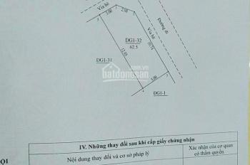 Bán đất dịch vụ lô góc DT 63 m2 giá 2.56 tỷ tại Khu Nấm, Yên Sở, Hoài Đức, Hà Nội, LH 0981782567