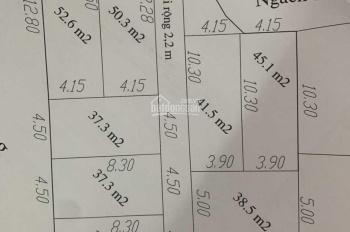 Bán đất ngõ 145 Liên Mạc, DT 42m2 MT 4,2m đường 5m ô tô tránh nhau. Giá 30 tr/m2