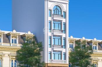 Bán nhà vip mặt phố đường Hoàng Quốc Việt. Diện tích 170m2 x 6 tầng, MT: 10m, giá bán: 88 tỷ
