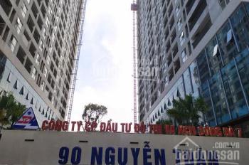 Cho thuê tầng 1, tầng 2 và tầng 3 dự án 90 Nguyễn Tuân, diện tích linh hoạt từ 160m2, 230m2
