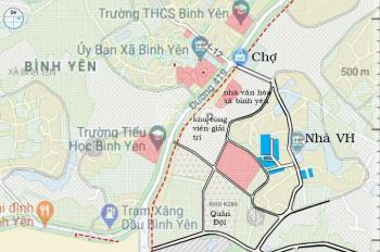 Bán đất nền khu CNC Hòa Lạc - lô góc full thổ cư - 0977999008
