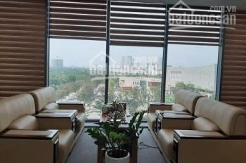 Cho thuê văn phòng 240m2 giá rẻ nhất phố Hoàng Quốc Việt chỉ 50 triệu/tháng cực đẹp, LH 0982370458