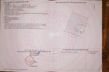 Bán đất SĐCC diện tích 33m2 Tả Thanh Oai, Thanh Trì Hà Nội, LHCC: 0942007588