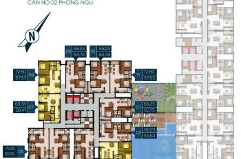 Cần bán căn góc A-29-03 Phú Đông Premier 67m2 2PN 2WC, giá 2 tỷ, Tài 0967.087.089