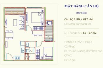 550 triệu sở hữu căn hộ 2PN đa năng 59.1m2 Vinhomes Ocean Park. PKD CĐT: 0967 078 018