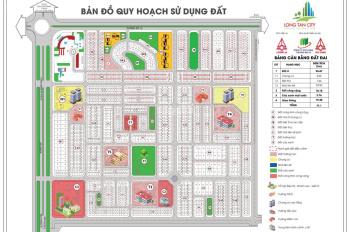 Bán đất nền sổ đỏ Long Tân City, giá 8tr/m2 đến 12tr/m2, LH: 094 789 68 09