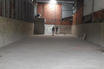 Cho thuê kho xưởng 9x30m Vĩnh Lộc A, đường Nữ Dân Công vào 1 sẹc, giá 8tr/th. LH 0907788235
