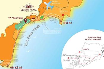 Tôi cần bán lô đất A5 - 25, DT 97,5m2, dự án Queen Pearl Mũi Né, Phan Thiết, Bình Thuận