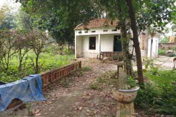 5900m2 thực tế sử dụng 6500m2 có sẵn nhà và ao cá phù hợp làm nhà vườn nghỉ dưỡng tại Lương Sơn
