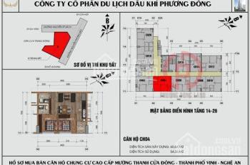 Nhượng bán căn hộ chung cư Mường Thanh, Nhà mới vào ở luôn. Chỉ 10,2 tr/m2