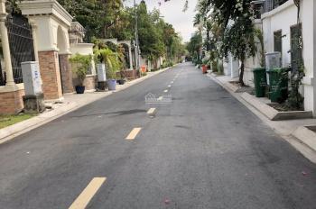 Biệt thự góc 2 MT ở hoặc tách thửa đường 12m Thảo Điền Q2, 20.11x29.6m, nở hậu CN 564m2, 120tr/m2