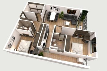 Ngoại giao căn góc 3 phòng, 83m2, view Vinhomes Riverside, giá 2,1 tỷ, LH: 0902232293