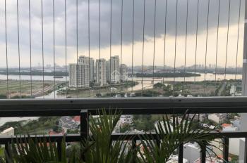 2PN+2WC, full nội thất cao cấp view sông Sài Gòn thuê giá rẻ The Sun Avenue Quận 2. LH 097 884 8835