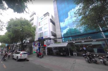 Cho thuê tòa nhà văn phòng MT Nguyễn Văn Thủ, Q. 1, 8x20m, 7 tầng, thang máy, giá 230tr/th