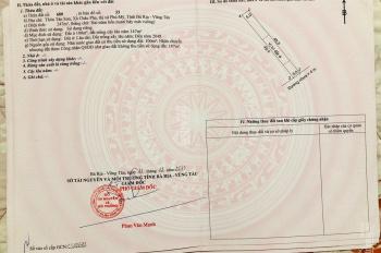 Chính thức mở bán và nhận đặt chỗ KDC Châu Pha - Tx Phú Mỹ - BR - VT ngay trục đường chính Châu Pha