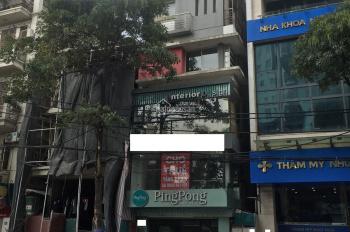 Cho thuê nhà mặt phố Nguyễn Thị Định - Trần Duy Dưng, 50m2 x 5,5 tầng mặt tiền 5m. Giá 50tr/th