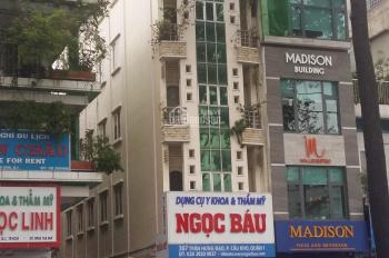 Định cư NN bán gấp nhà góc 2MT Nguyễn Thái Bình, Q1. DT 7x20m 5 tầng, HĐ thuê 150 triệu/ tháng 71tỷ