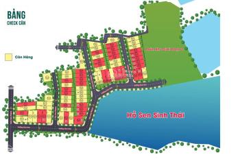 71 lô Hòa Lạc Lotus - view hồ sinh thái 3ha - trung tâm khu công nghệ cao Hòa Lạc, LH: 0936044669