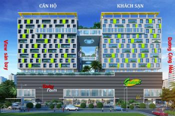 Cho thuê Officetel 50m2 tại khu căn hộ cao cấp Republic Plaza, Tân Bình 15 triệu. Tiện ích cao cấp