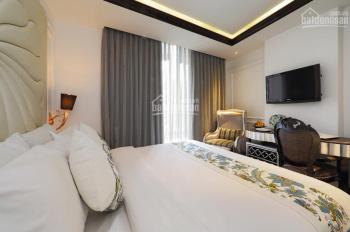 Bán tòa nhà căn hộ dịch vụ 10x45m - 80 căn hộ DV đường Nguyễn Thị Thập, Q.7. TN 600tr/th giá 75 tỷ