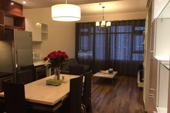 Cho thuê nhanh giá rẻ căn hộ 2PN Saigon Pearl, tầng cao, view LM81, nội thất đẹp chỉ 17.5 tr/tháng