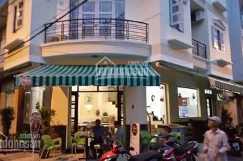 Bán nhà góc 2MT,HXH đường Bà Hom chợ Phú Lâm phường 13 Quận 6, MT 18m đang kinh doanh cafe, 9 tỷ TL