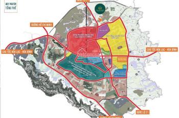 Chính chủ cần bán mảnh 85.9m2 khu Tân Xã - Hòa Lạc cách khu công nghệ cao 3km - 0919.626.179