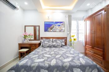 Cho thuê căn hộ cao cấp tại Q3 Lý Chính Thắng, full nội thất, có bếp, an ninh đường ô tô, 6.5 tr/th