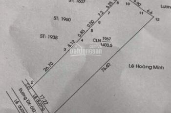 Bán lô đất 1400m2 thổ cư 600m2, đường nhựa DX 042, Phú Mỹ - Thủ Dầu Một, Bình Dương