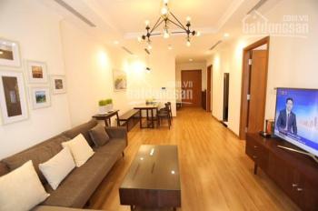 Cho thuê căn hộ 2 ngủ tầng sân vườn Vinhomes Nguyễn Chí Thanh, đủ đồ view hồ(0904935985)