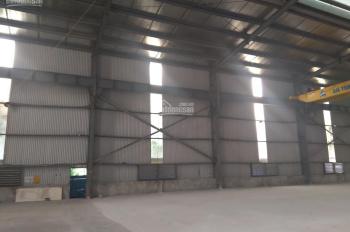 Cho thuê 320m2 kho cuối đường Văn Tiến Dũng, Nam Từ Liêm, giá 82k/m2/th, xuất VAT, Container đỗ cửa