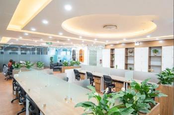 Chính chủ cho thuê gấp VP phố Huỳnh Thúc Kháng. 100m2 thông sàn giá 16tr/th, đã setup đầy đủ NT