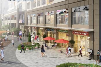 Cần tiền bán gấp Shophouse Victoria Village huề vốn Duplex 76m2, 8.2 tỷ thanh toán 28% 0908113111