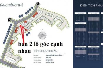 Bán đất đấu giá Phương Canh đường Trần Hữu Dực 2 căn góc cạnh nhau 3 mặt đường view vườn hoa 78tr